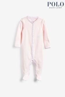 ثوب مناسب لنمو الأطفال وردي منRalph Lauren