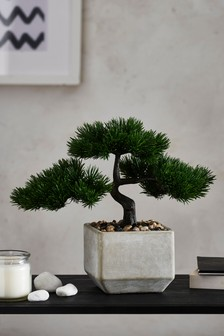 Umělá bonsai v květináči