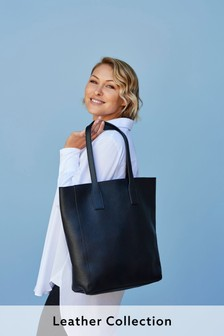 Emma Willis Leather Shopper Bag