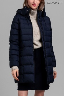 GANT Blue Padded Down Coat