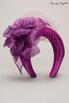 קשת לשיער שלPhase Eight דגם Lottie בצבע סגול