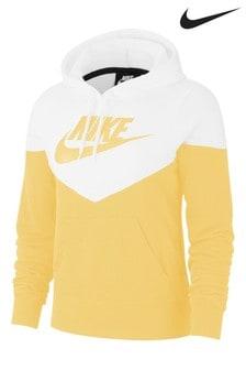 Nike Heritage Fleece-Kapuzensweatshirt zum Überziehen