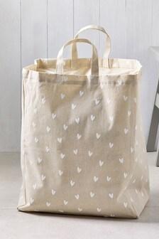 Ditsy Hearts Laundry Bag