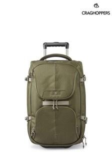 Craghoppers 綠色 Wheelie 旅行包