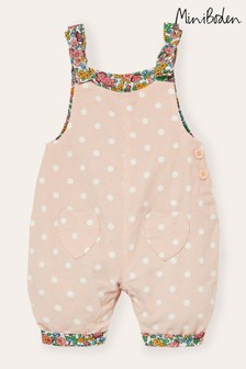 Boden Pink Cord Dungarees