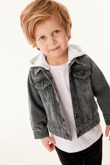 丹寧連帽夾克外套 (3個月至7歲)