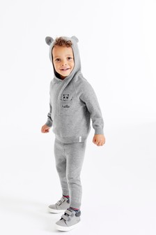 Cosy Embroidered Hoody And Joggers Set (3mths-7yrs)