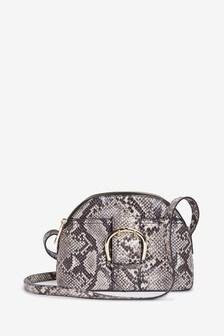 Buckle Detail Across-Body Bag