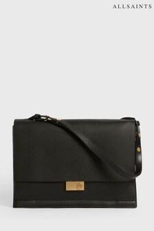 AllSaints Black Avery Shoulder Bag