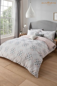 Sam Faiers Rae Deco Cotton Duvet Cover and Pillowcase Set
