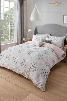 Bavlnená súprava vzorovanej posteľnej bielizne Sam Faiers Hailie Rae Deco