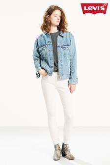 Levi's® White 721 High Rise Skinny Jeans