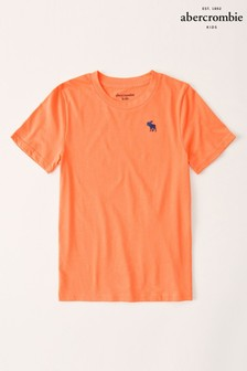 Oranžové tričko Abercrombie & Fitch