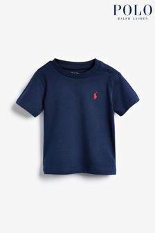 חולצת טי מג'רזי של Ralph Lauren בצבע נייבי