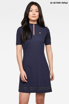 G-Star Cergy Zip Slim Dress