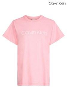Calvin Klein Jeans Pink Core Logo T-Shirt