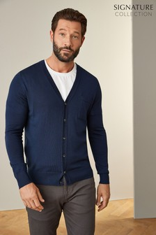 Signature Merino Wool Cardigan