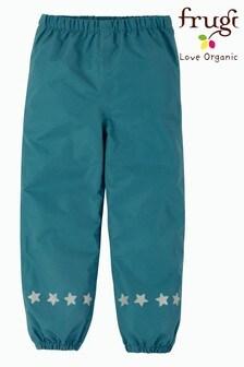 Frugi Recycled Navy Waterproof Trousers