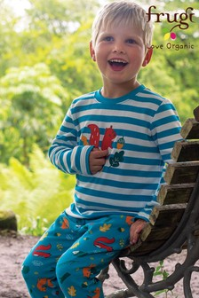 Frugi National Trust Reversible Pull-Up Trousers