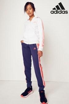 adidas Navy/Pink Tracksuit