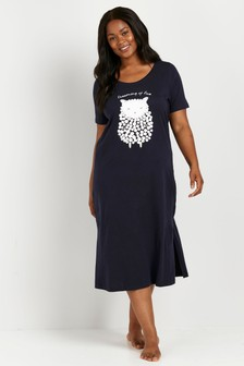 Evans Curve Blue Dream Nightdress