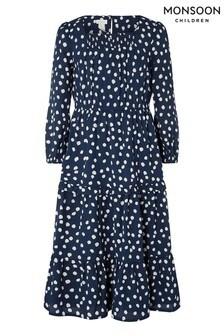Monsoon Blue S.E.W Serenity Splodge Dress