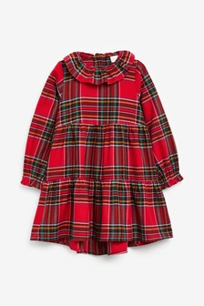 Frill Collar Dress (3-16yrs)