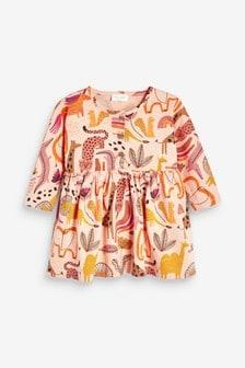 Платье с длинными рукавами (0 мес. - 2 лет)