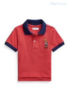 Ralph Lauren Red Bear Polo