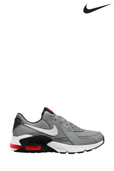 Nike Grey/White Air Max Excee Trainers
