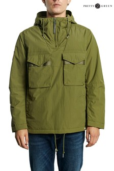 Pretty Green Quilted Smock Jacket