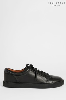 Ted Baker Udamo Black Leather Sneakers
