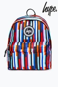 Hype. Multi Stripe Backpack