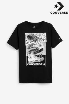 Converse ユース スニーカー柄 T シャツ