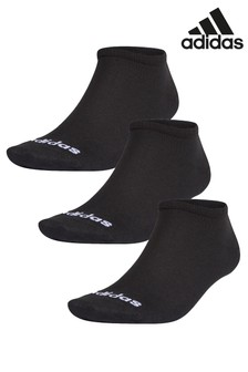 adidas Adults No Show Socks Three Pack
