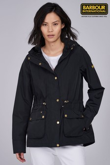 Barbour® International Black Biltwell Waterproof Jacket
