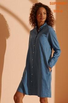 Superdry Classic Preppy Shirt Dress