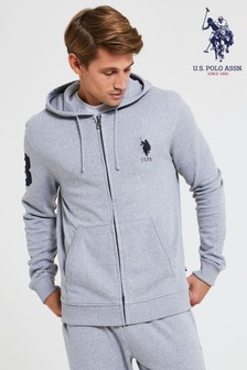 U.S. Polo Assn. Player 3 ジップ パーカー