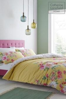 Catherine Lansfield pflegeleichter Lille Bettbezug und Kissenbezug mit Blumenmuster