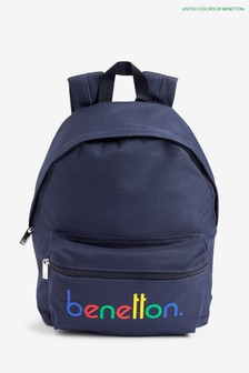Benetton Navy Back Pack