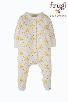 ثوب مناسب لنمو الصغار قطن عضوي بط بقفازات منع الحك مدمجة منFrugi