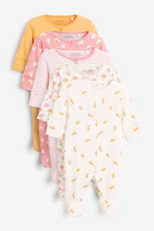 Set van 5 babypyjama's (0-2 jr)