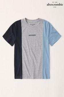 Tričko s vertikálnymi pruhmi Abercrombie & Fitch