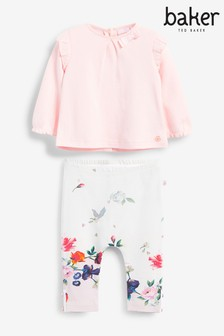 Baker by Ted Baker Frill Sleeve Set