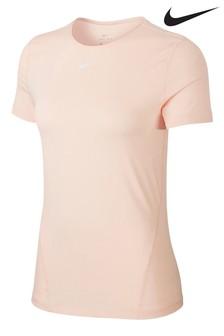 Nike Pro T-Shirt aus Netzstoff