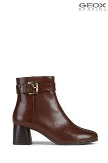 Geox Women's Calinda Brown Boots