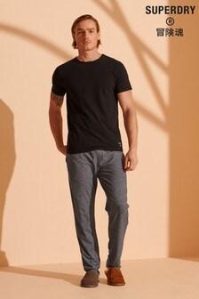 Superdry黑色/灰色睡衣套裝