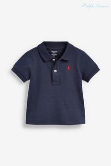 Ralph Lauren Navy Interlock Polo