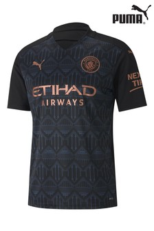 Puma Manchester City Away Short Sleeve Jersey
