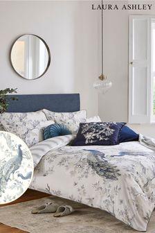 Laura Ashley Midnight Belvedere Duvet Cover and Pillowcase Set